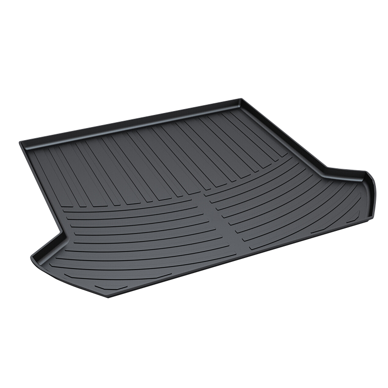 TPO Trunk Tray for Volvo XC90,2009-2014,Premium Waterproof Pad car-styling products accessory for honda jazz trunk tray mat tpo waterproof anti slip car trunk carpet luggage cover black