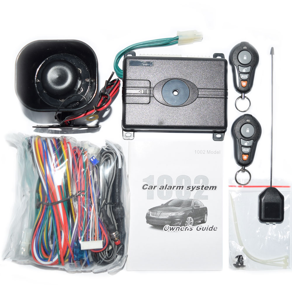 USA Canada Market VP1002 Top Quality One Way Car Alarm