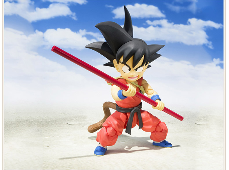 Dragon Ball Young Son Goku on Flying Nimbus Action Figure 3