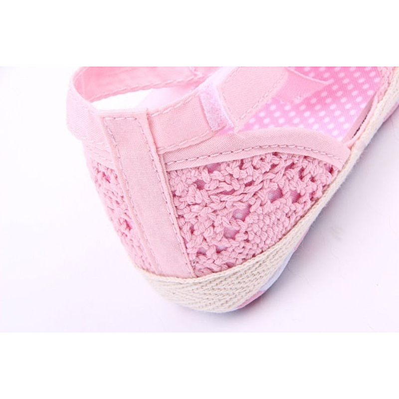ABWE Best Sale Baby Shoes Soft AntiSlip Prewalker Newborn 9-12m (13cm) pink