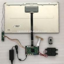 2 HDMI + VGA + DP + Áudio 4 K suporte placa controladora LCD M280DGJ-L30 com 3840*2160