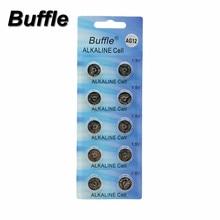 10x Buffle AG12 Button Cell Battery LR43 SR43 260 386 1.5V Alkaline Watch Coin Batteries