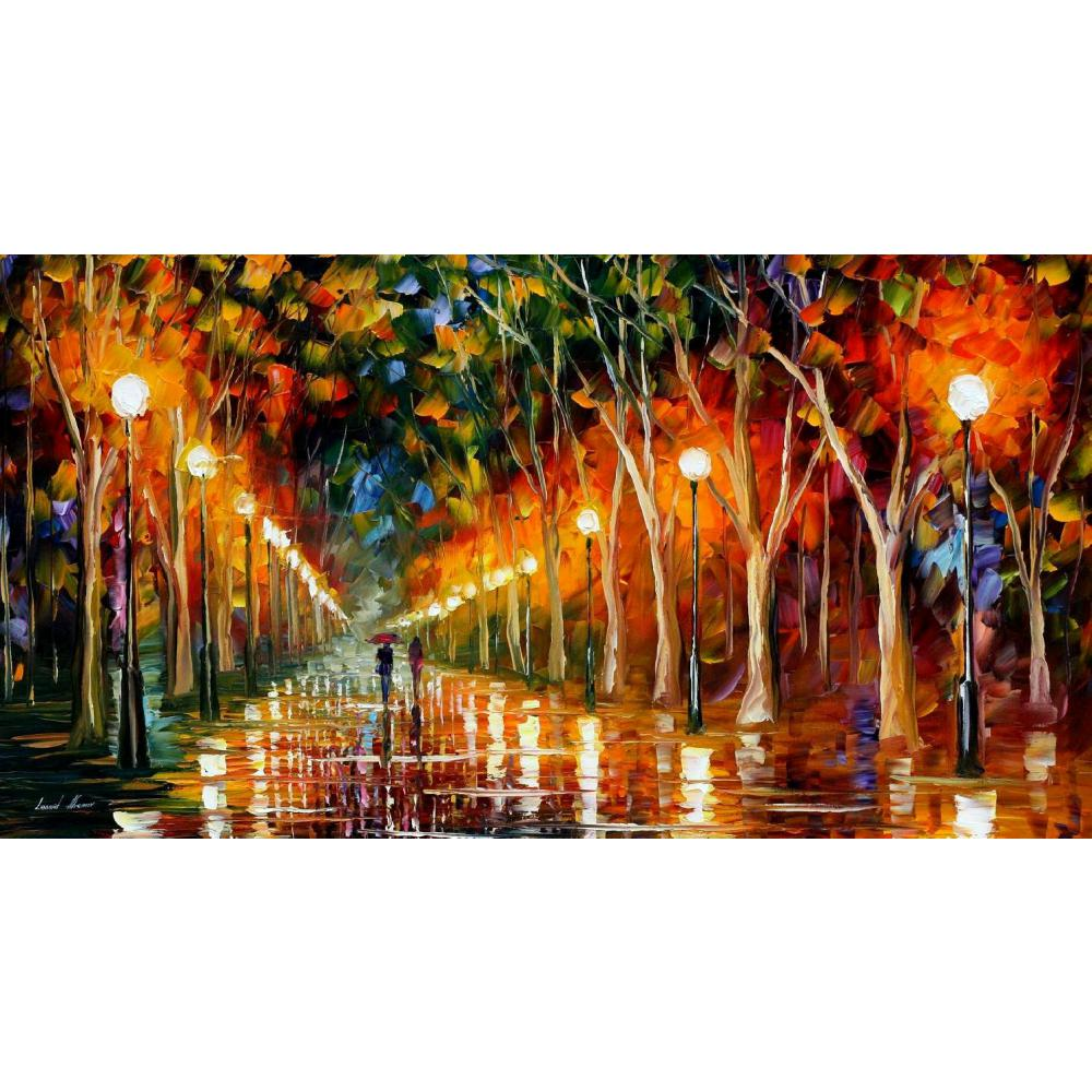Modern art landscape the path to victory palette knife oil painting High quality Hand painted home decorModern art landscape the path to victory palette knife oil painting High quality Hand painted home decor