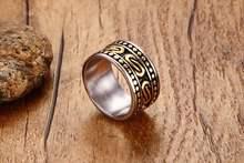 Крутые мужские кольца модные высококачественные из нержавеющей
