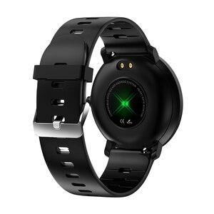 Image 2 - BINSSAW 2019  K9 Smart watch IP68 waterproof IPS Color Screen Heart rate monitor Fitness tracker Sports smartwatch PK CF58 K1