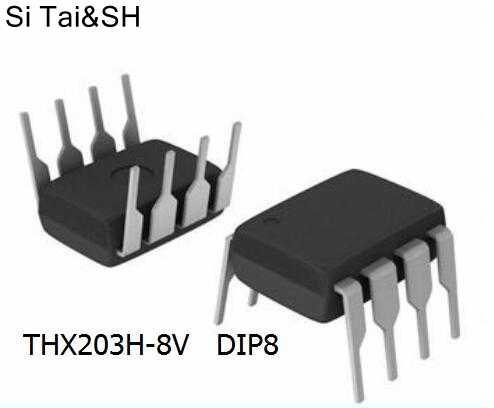 10 adet/grup DVD adaptörü IC THX203 THX203H THX203H-8 THX203H-8V DIP orijinal