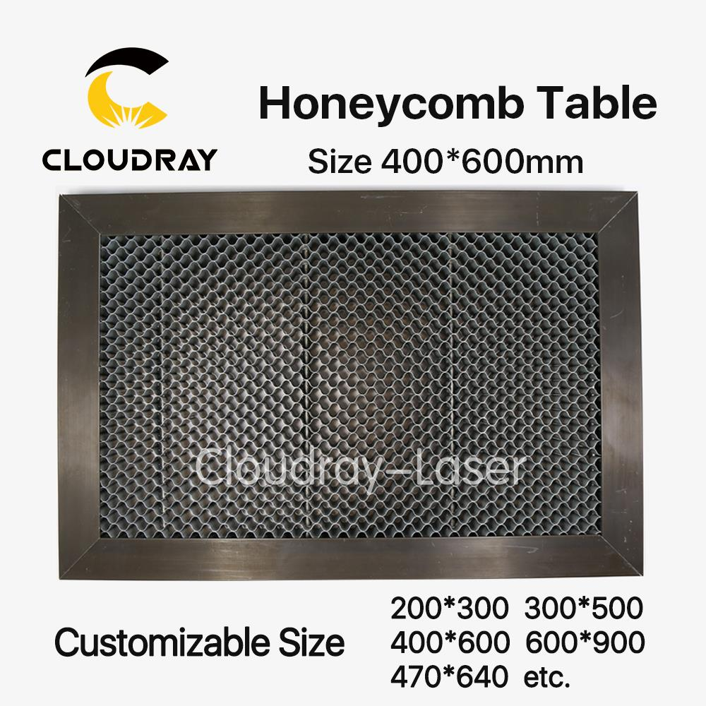 Cloudray Honeycomb Working Table 400*600 mm Customizable Size Board Platform Laser Parts for CO2 Laser Engraver Cutting Machine co2 laser machine laser path size 1200 600mm 1200 800mm