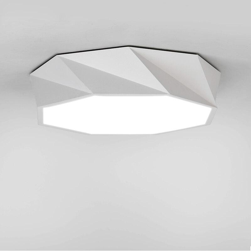 Modern surface mounted ceiling lamp LED panel White/Black for bathroom lighting AC110-240V luminarias paraModern surface mounted ceiling lamp LED panel White/Black for bathroom lighting AC110-240V luminarias para