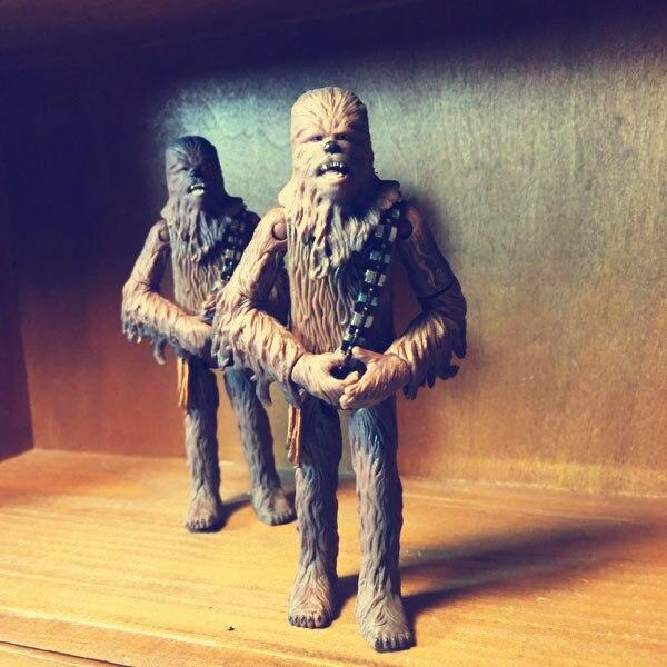 Limited Collection Original Star Wars Chewbacca Gorilla Figure Toy Home Car Decoration Birthday Children Boy Gift 3.75inch