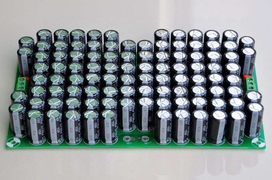 100,000uF Capacitors Module Board, For Upgrade Audio PreAMP Or Power AMP