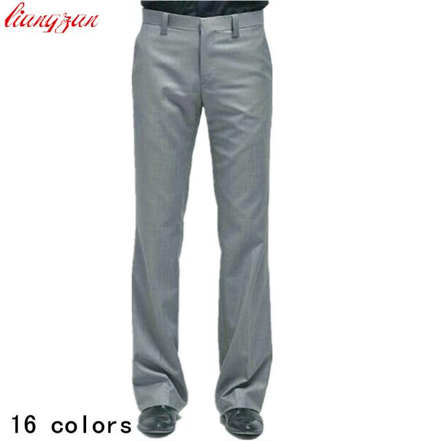 Hombres Traje Casual Pantalones Rectos Más El Tamaño XS-XXXL de Negocios Formal Slim Fit Pantalones Pantalones de Marca de Diseño de Moda de La Boda F1002
