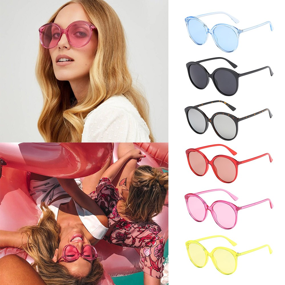 2018 Sunglasses Women Man Fashion Vintage Round Frame Sunglasses Eyewear Retro Unisex Oculos