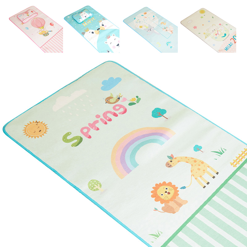 Baby Summer Cool Sleeping Mat Breathable Mattress Pads Toddler Crib Cot Cozy Nap Pads Infant Bed Mat Kindergarten Sleeping Pad