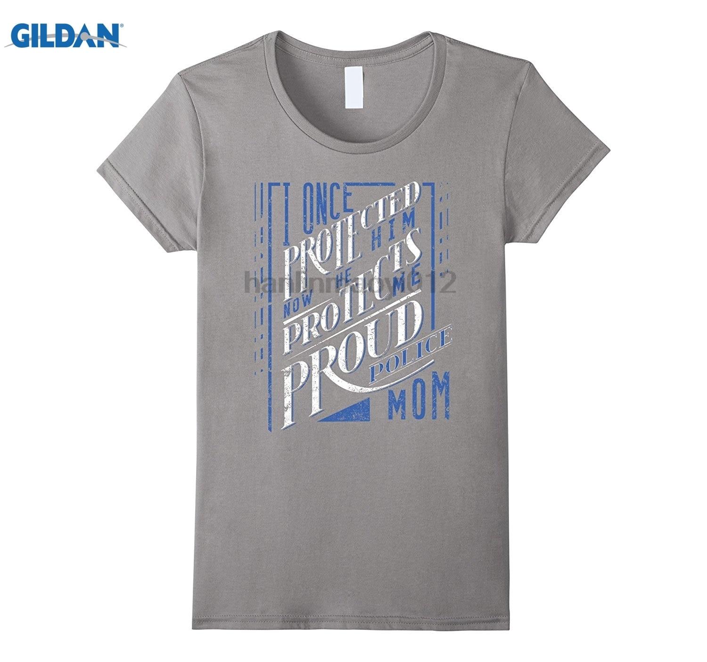 Возьмите мой сын полицейский полиции Мамы Рубашка полиции папа Рубашка Горячие Для женщин футболка