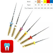 12 teile/satz Dental Protaper Dateien Flexible Dreh Endodontie 21mm & 25mm SX-F3 Nickel Titainium Wurzelkanal Dateien Zahnarzt materialien(China)
