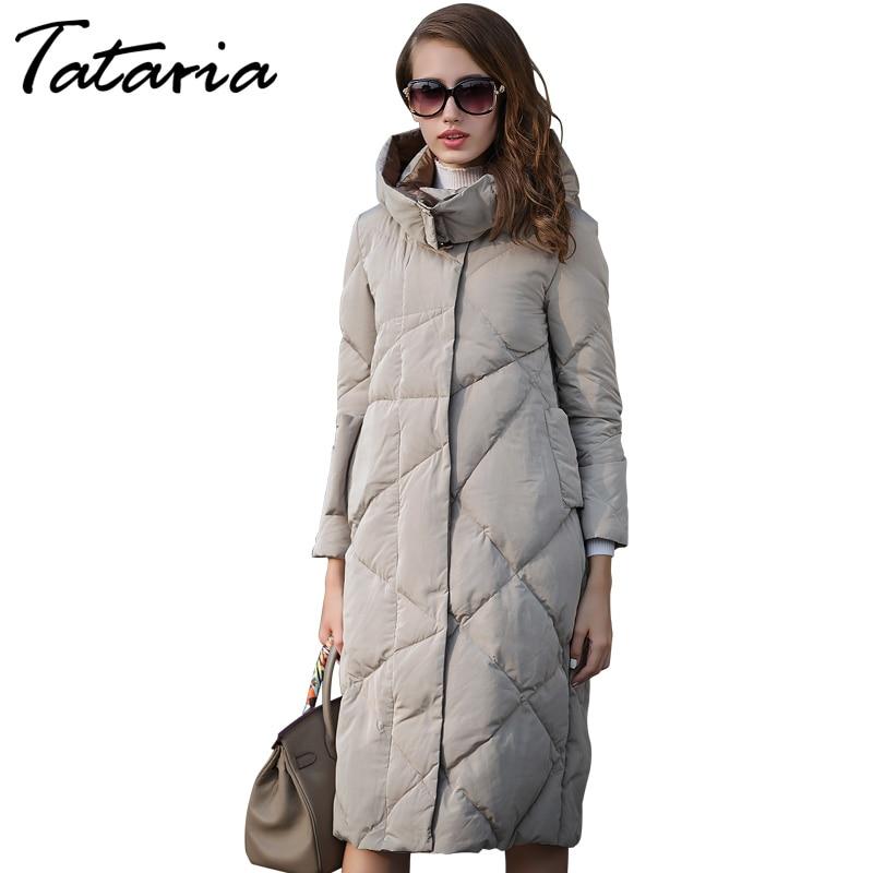 Winter Parka Women Jackets Female 2018 Fashion Long Jacket
