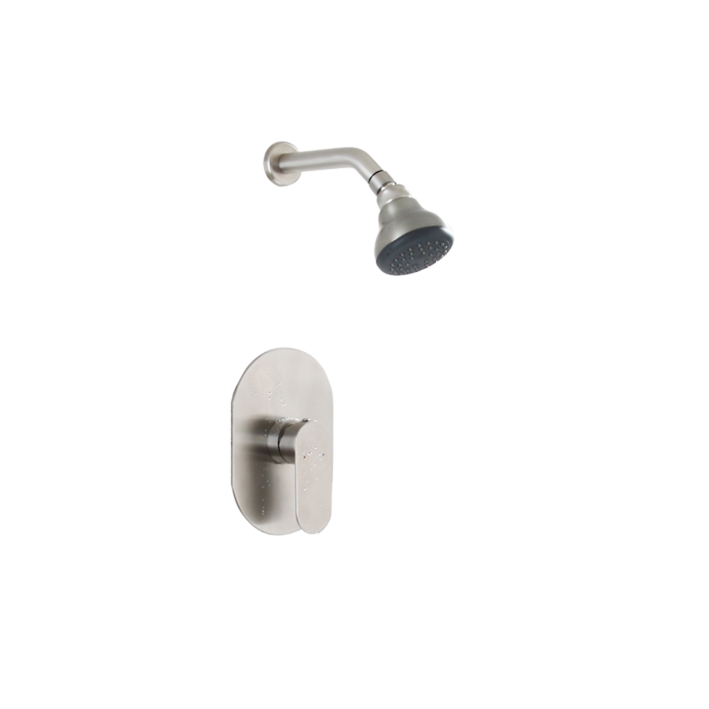 304 stainless steel concealed shower shower head into wall type cold and hot water shower faucet wx6021710