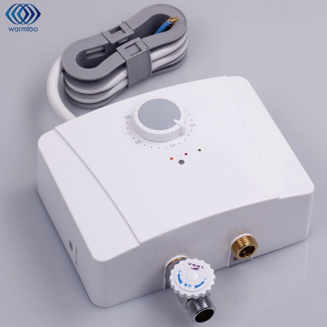 Kitchen Mini Electric Water Heater Instant Hot Intelligent Constant  Temperature Bathroom Hot Water System Tap Faucet