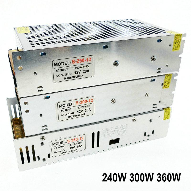 Lighting Transformers DC12V High Quality LED Lights Driver for LED Strip Power Supply 60W 100W 200W 300W 400W 500W 600W