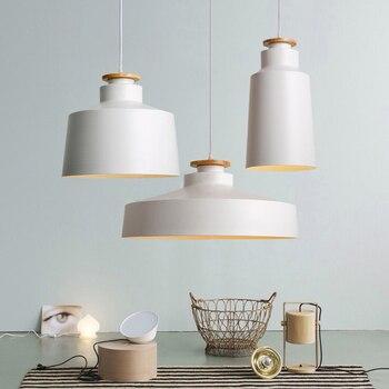 Interior Designer's Lighting Creativity of Home Decoration pendant light white & black pendant lamp