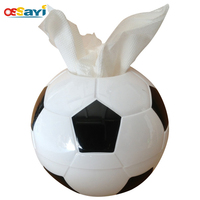 Creative Football Tissue Boxes Of Household Plastic Circular Tissue Boxes Sitting Room Toilet Kitchen Paper Towel