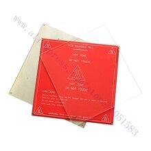 3 шт./компл. Очаг Отопления Алюминиевая пластина + стеклянная пластина + PCB Тепло-Кровать для heatbed MK2/2A/2B 3d-принтер, Reprap, мендель