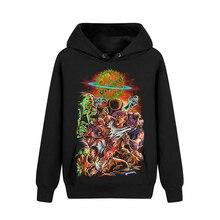 Bloodhoof Rings of Saturn Xeno Heavy Metal Got Your Six Black пуловер с длинным рукавом Толстовка азиатского размера