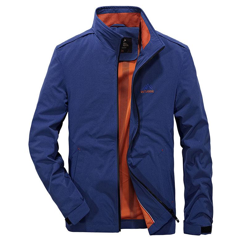 Color Block Patchwork Hooded Jackets Men Casual Windbreaker Jacket Overcoats 2019 Autumn Male Women Hip Hop