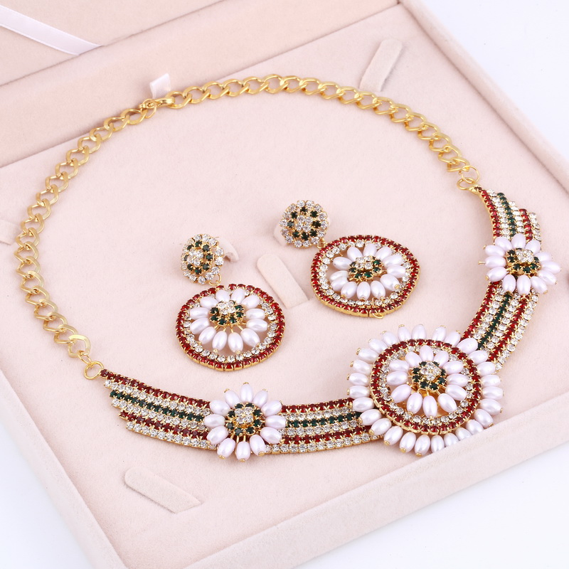 Bohemia African Beads Pearl...