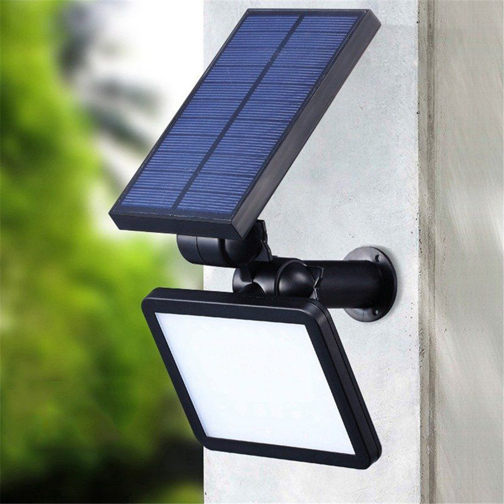 48 LEDs Solar Powered Outdoor Landscape Lighting Waterproof IP65 with Automatic On/Off White light цены онлайн