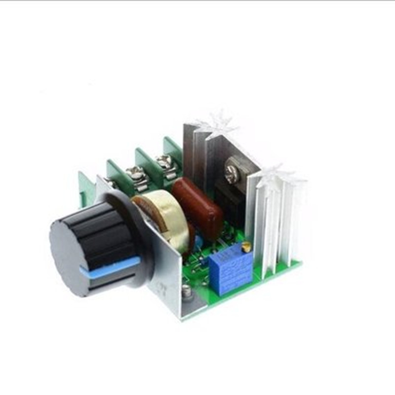 1pcs AC 220V 2000W SCR Voltage Regulator Dimming Dimmers Speed Controller Thermostat thermostat 3000w scr voltage temperature