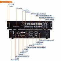 Видео высокого разрешения процессор SC359S профессии масштабирование и коммутации видеостена контроллер для светодио дный видеостена экран