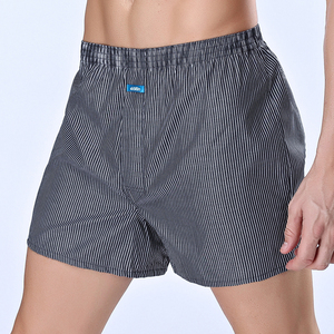 Image 4 - High Quality ! ekMlin Brand 4 Pack Mens  Boxer Shorts Woven Cotton 100%  Plaid 50s Combed yarn male Underpant  Loose Breathable