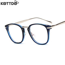 KOTTDO 2017 New Retro Trends Glasses Frames Artistic Glasses Frames Men and Women Optical Brand Eyewear Frames Female Designer