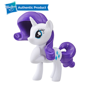 Image 3 - Hasbro My Little Pony Toy Rainbow Tail Surprise Collection Pack Of 6 3 Inch Fan Pony Figures Doll Twilight Pinkie Pie Rarity