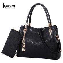 Famous Brand Handbag Women Purses and Handbags Fashion Chains Composite Bag Designer Women's Shoulder Bags Pu Leather 2 Bag Set