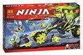 Bela Ninjagoes Cadena Ciclo Emboscada Building Block Set Zane Pirro Cowler Ninos Juguete 70730 Compatible