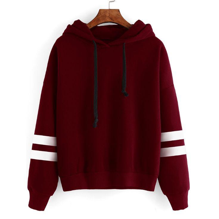 HCBLESS 2018 Autumn Women Hoodie Casual Long Sleeve Hooded Pullover Sweatshirts Hooded Female Jumper Women Tracksuits Sportswear