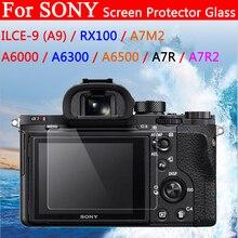 цена на Camera LCD Screen Protector Film For Sony ILCE-9 A9 A6000 A6300 A6500 RX100 A7M2 A7R A7R2 Camera Display 9H Tempered Glass Film