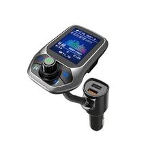 T43 автомобильный MP3 1,8 «TFT цветной дисплей Bluetooth автомобильный комплект Handfree набор 3 USB порта QC3.0 Быстрая зарядка fm-передатчик MP3 музыкальный плеер
