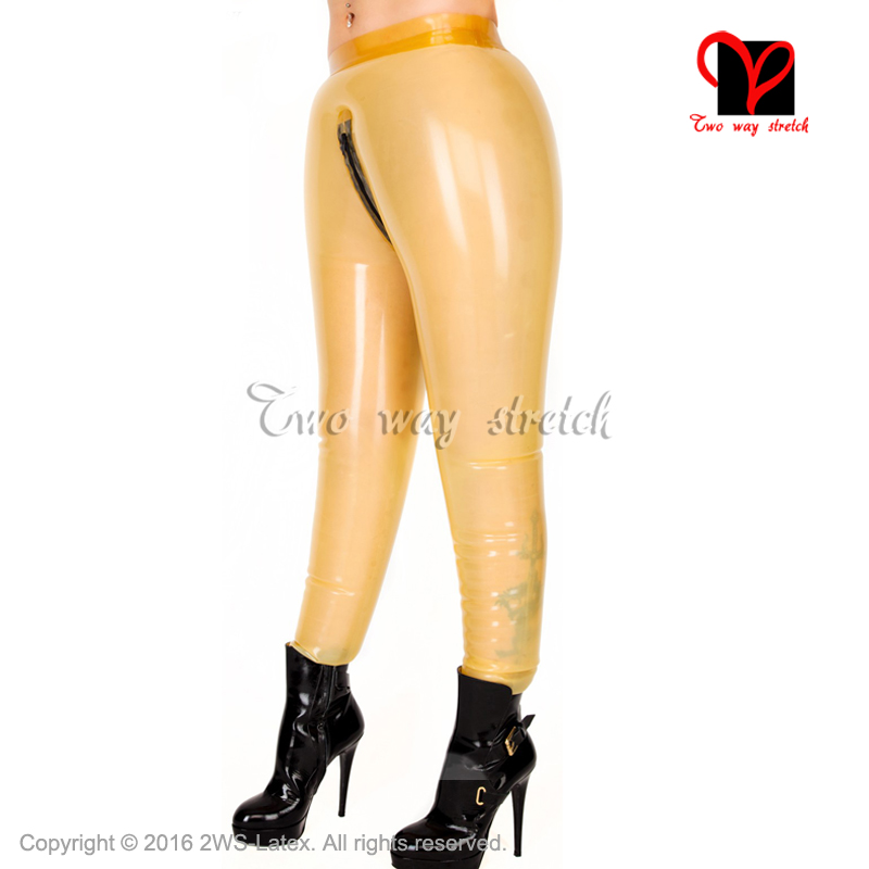 Sexy Inflatable Latex Pants Rubber Trousers Bottoms plus size XXXL KZ 145