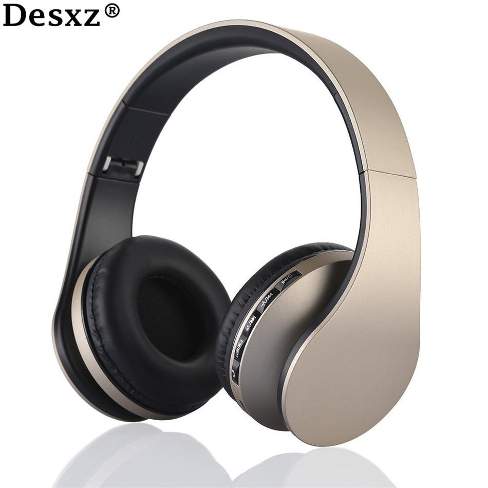Desxz D41 auriculares inalámbricos Bluetooth Super Bass HIFI auriculares audífonos fone de ouvido auriculares para smartphone xiaomi PC