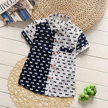 цена на Male tong tong shirt 2017 summer new short sleeve shirt