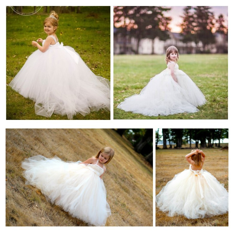 Luxury Puffy Ball Gown Flower Girl Dress for Weddings Toddler First  Communion Dresses Cupcake Long Party Dress Vestido Para-in Flower Girl  Dresses from ... 3aba438d9a5c