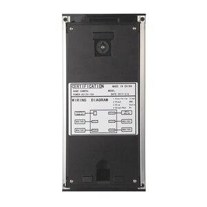 Image 3 - Видеодомофон с ЖК экраном 7 дюймов, система связи с домофоном для квартиры, 2 белых монитора, камера доступа RFID для 2 домашних хозяйств