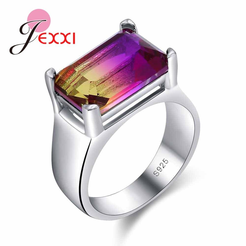 JEXXI Luxury High Quality Jewelry Women Wedding Sterling