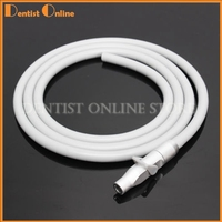 Dental Saliva Ejector Suction Valve SE/HVE 2 Tip Adaptor With Tubing Hose Pipes Free Shipping
