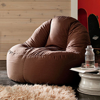 LEVMOON Beanbag Sofa Lounger Bean Bags Chair Living Roon Sitzac Just Beanbag Cover Without The Filling