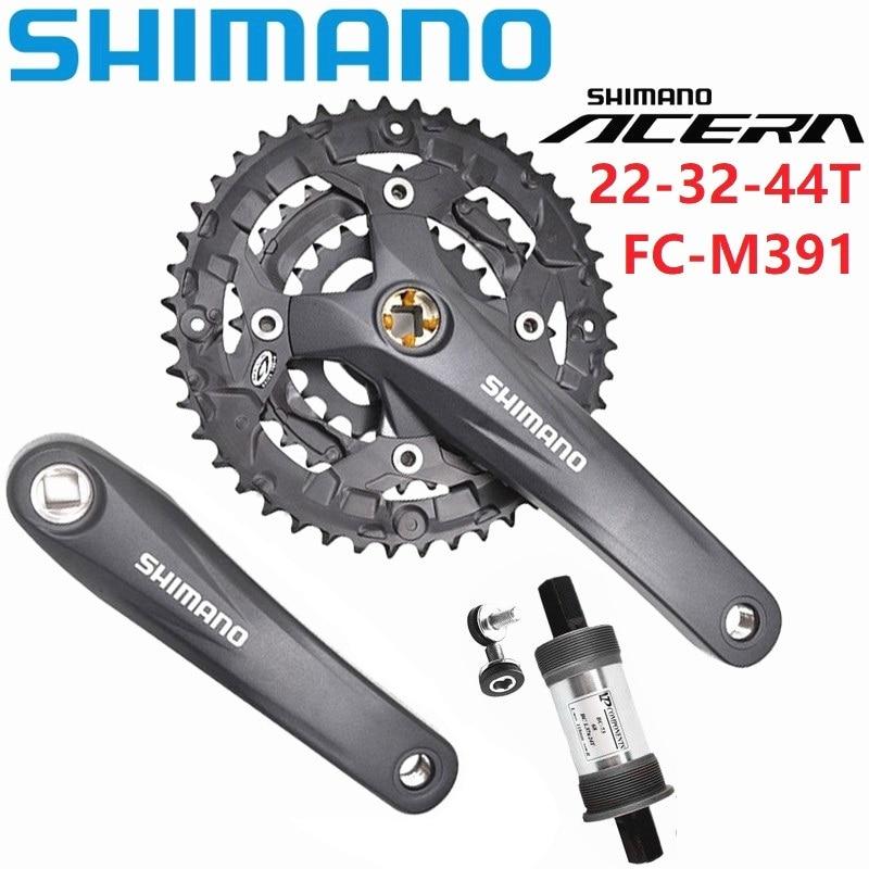SHIMANO Acera FC-M391 bike Crankset 170mm BB-ES25 Bottom Bracket Included
