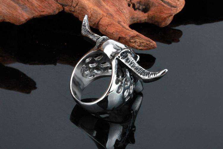 HTB1xjDAQpXXXXc4XXXXq6xXFXXX8 - Longhorn Skull Design Ring